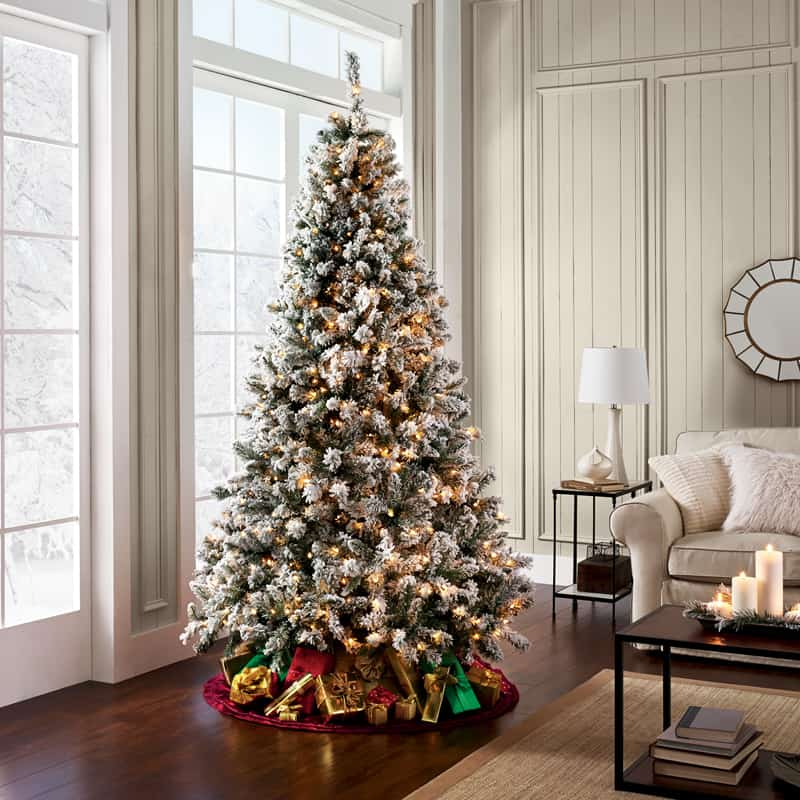 Best Price On Christmas Trees: Beautiful Ideas To Deck Up Your Frosted Christmas Tree