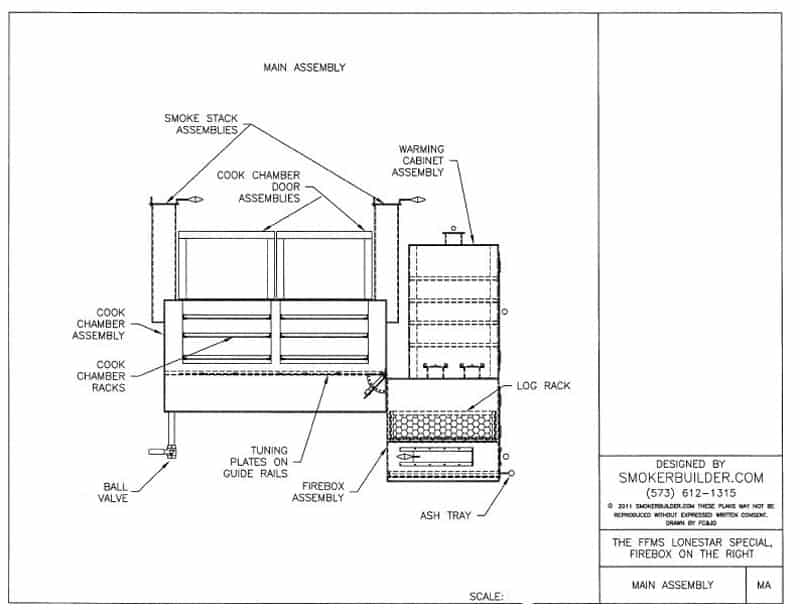 bbq smoker schematic wiring diagram
