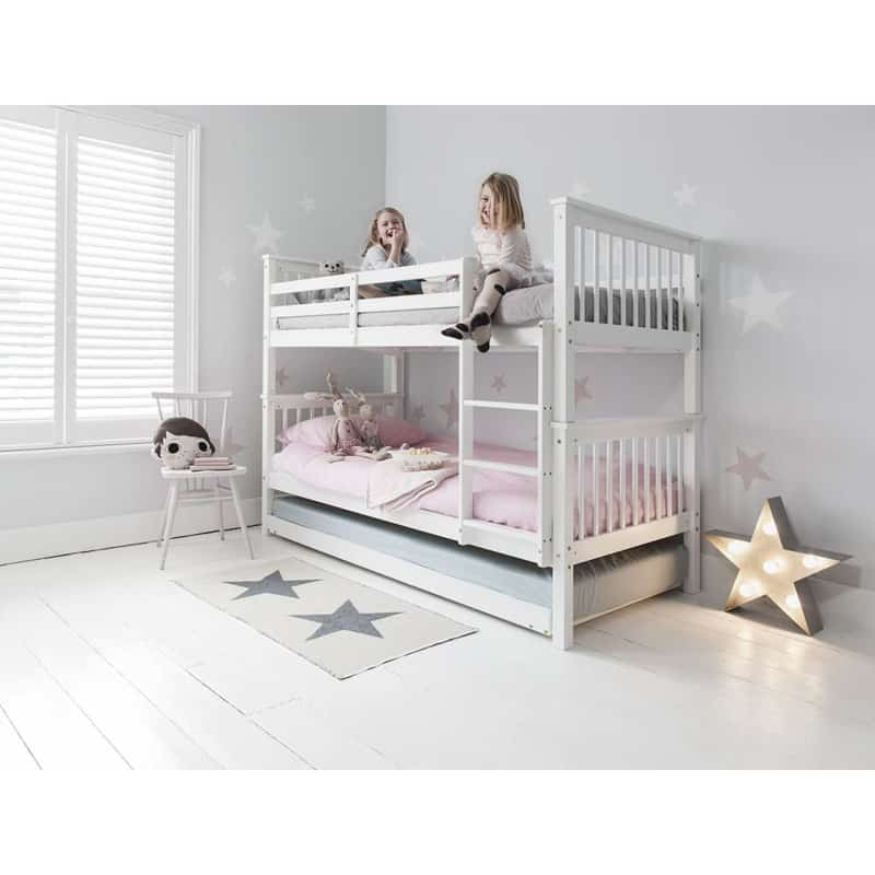 30 modern bunk bed ideas that will make your lives easier for Single bunk bed