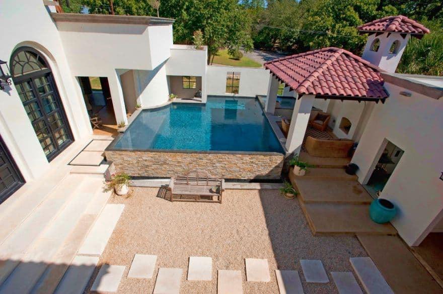 luxury above ground pools