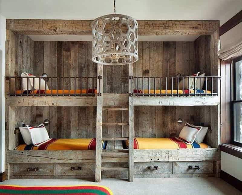 30 modern bunk bed ideas that will make your lives easier - Bunk bed decorating ideas ...