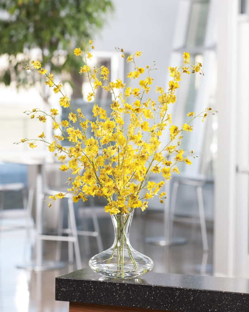 9 remarkable ideas with artificial flowers how became for Artificial plants for interior decoration