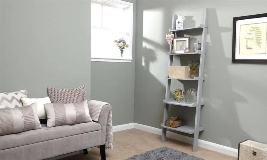 Ladder Shelving Is The Perfect Way To Add Interest, More Places To Decorate  And The Ability To Switch Things Around For The Changing Seasons.