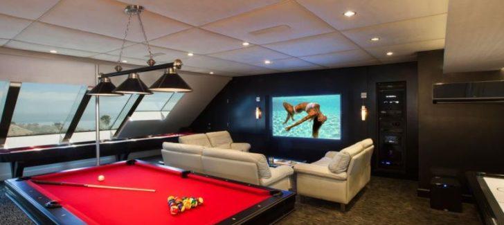 attic man cave ideas