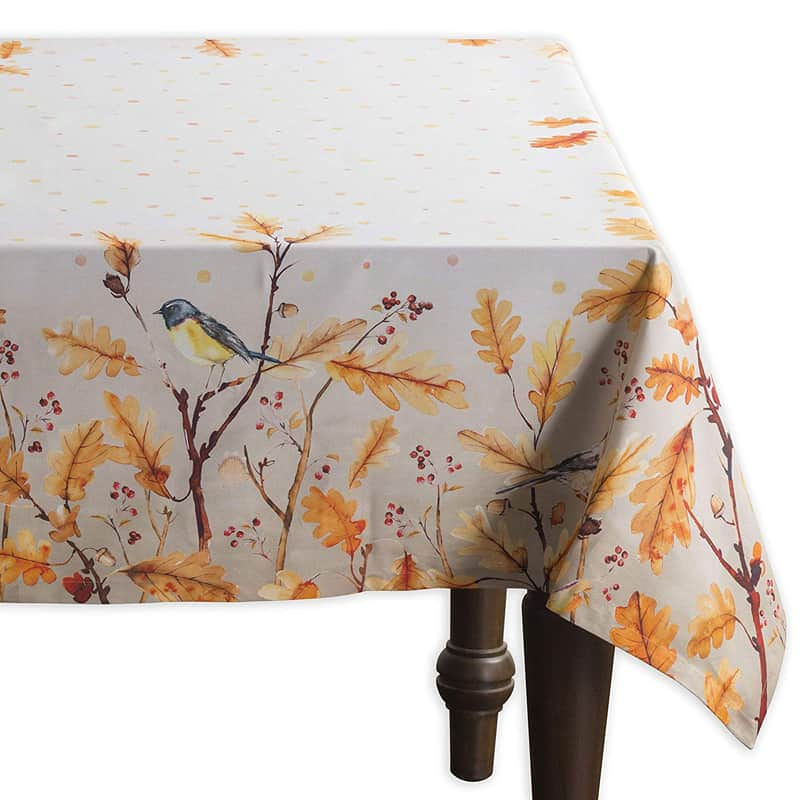 Cotton Tablecloths Perfect for Thanksgiving and Christmas