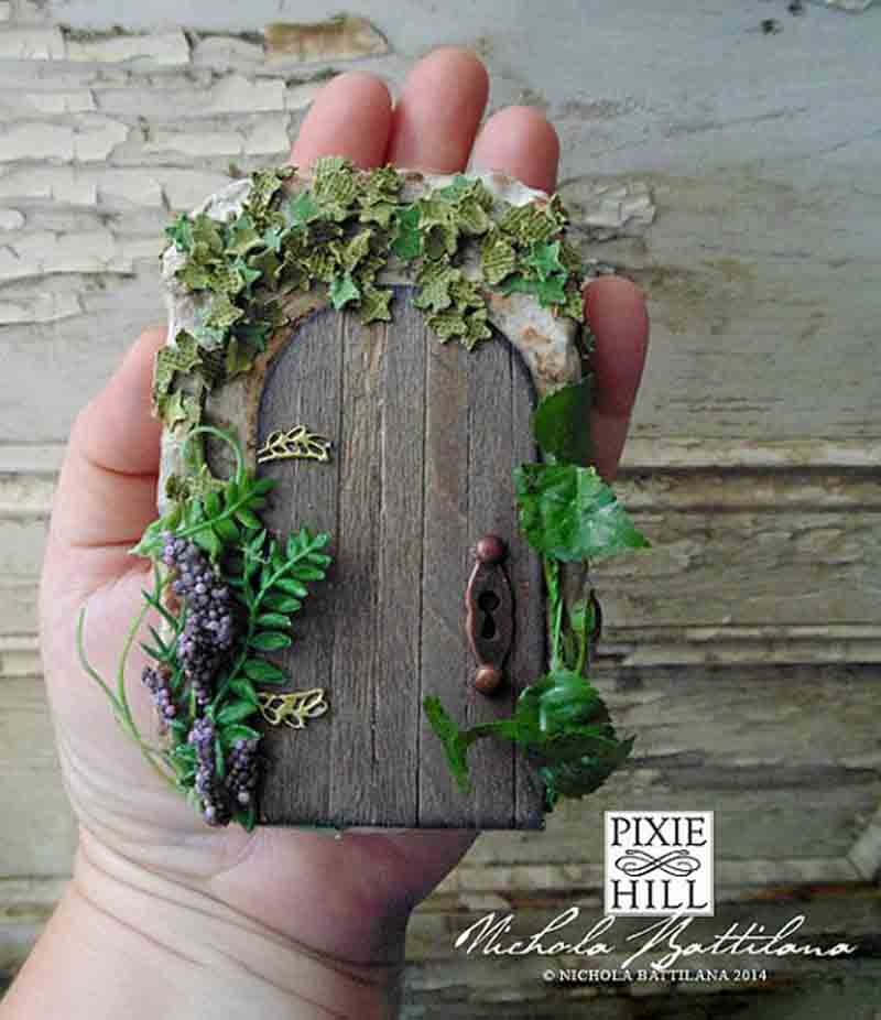 The 50 Best Diy Miniature Fairy Garden Ideas In 2019: 25 DIY Fairy Door Ideas From Popsicle Or Wooden Craft