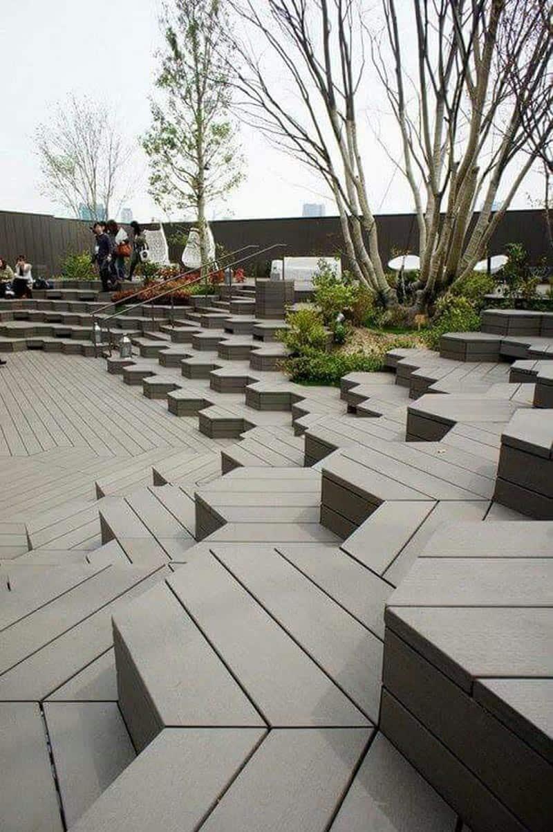 Reinterpreting Nature In Design 30 Urban Benches That You