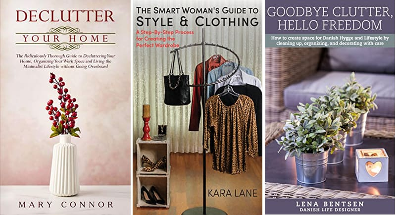 13 Books About Easy and Inexpensive Organizing Tips & Tricks