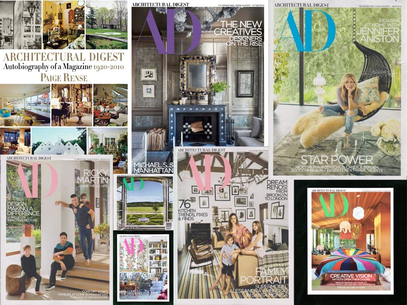 Have You Missed One? 12 Architectural Digest Magazines Published in 2018