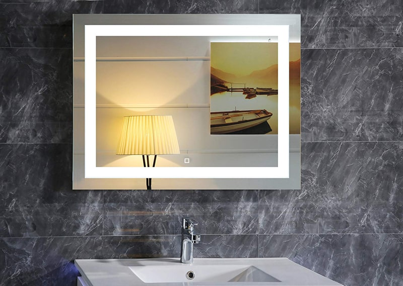 Bellagio Ii Backlit Mirror Led Bathroom Mirror Horizontal: 10 Modern LED Mirrors That Will Totally Change Your Bathroom