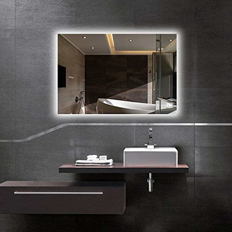 Lighted Mirrors For Bathrooms Modern: 10 Modern LED Mirrors That Will Totally Change Your Bathroom