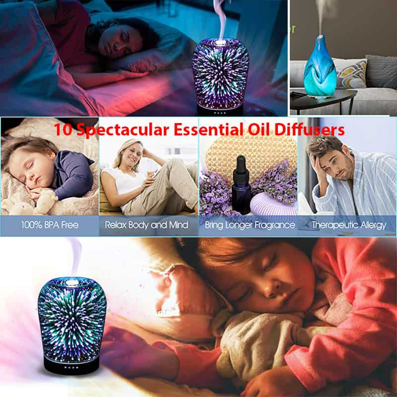 10 Spectacular Essential Oil Diffusers to Make Your Home Smell Amazing