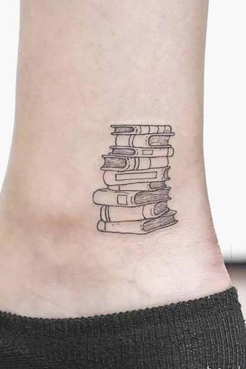 Best 35 Literary Book Tattoos Ideas For Men
