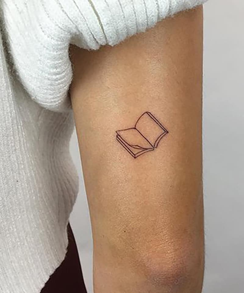 Best 35 Literary Book Tattoos Ideas For Men Here we have reviewed the best tattoo books that contain amazing designs along with the important information regarding the history of the tattoo. literary book tattoos ideas for men