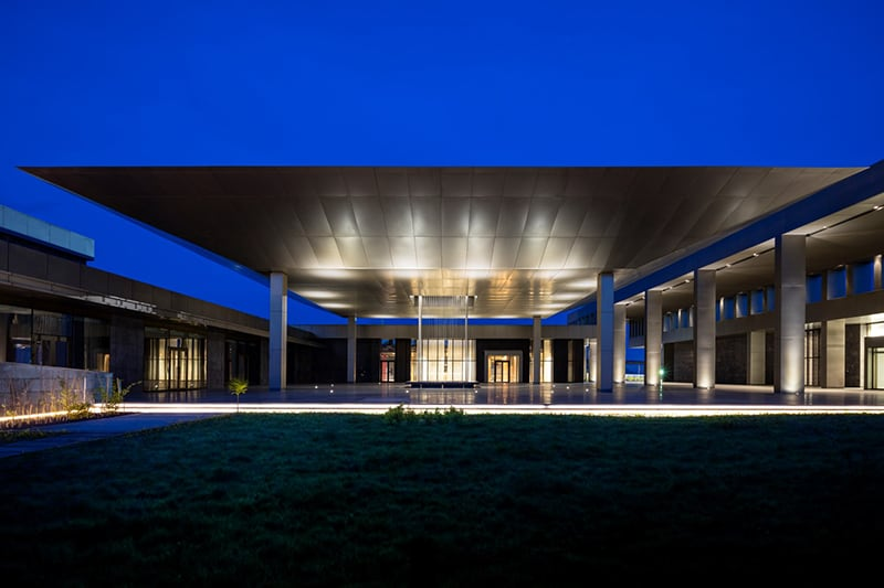 Kintele Congress Centre by Avci Architects