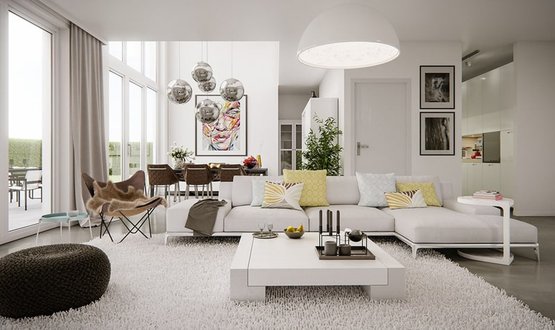 Tips to Make Your Living Room Stylish, Comfortable, and Cozy