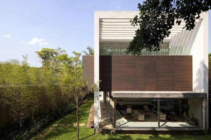 Terra Nova House By Isay Weinfeld Sao Paulo Brazil