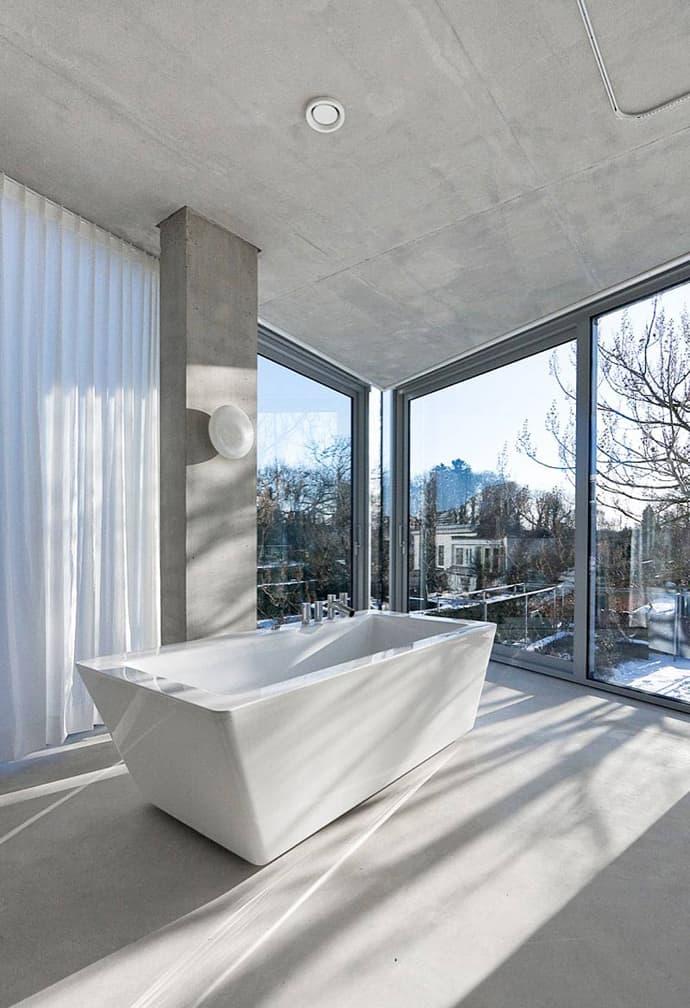 transparent bathroom designrulz
