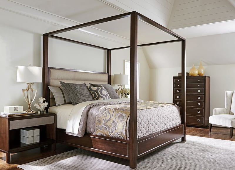 rather than being surrounded by frilly fabrics todayu0027s canopy beds blend the modern with the traditional! if you want an airy environment in your bedroom ... & 25 Dreamy Bedrooms with Canopy Beds Youu0027ll Love