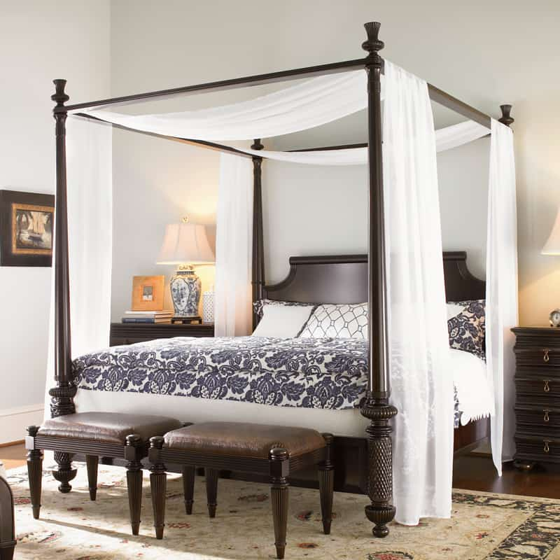 dreamy bedrooms with canopy beds